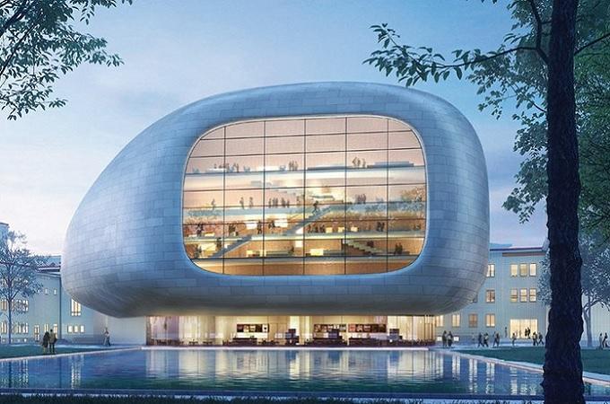 Vizualizace koncertní síně v Ostravě. Foto: Steven Holl Architects + Architecture Acts