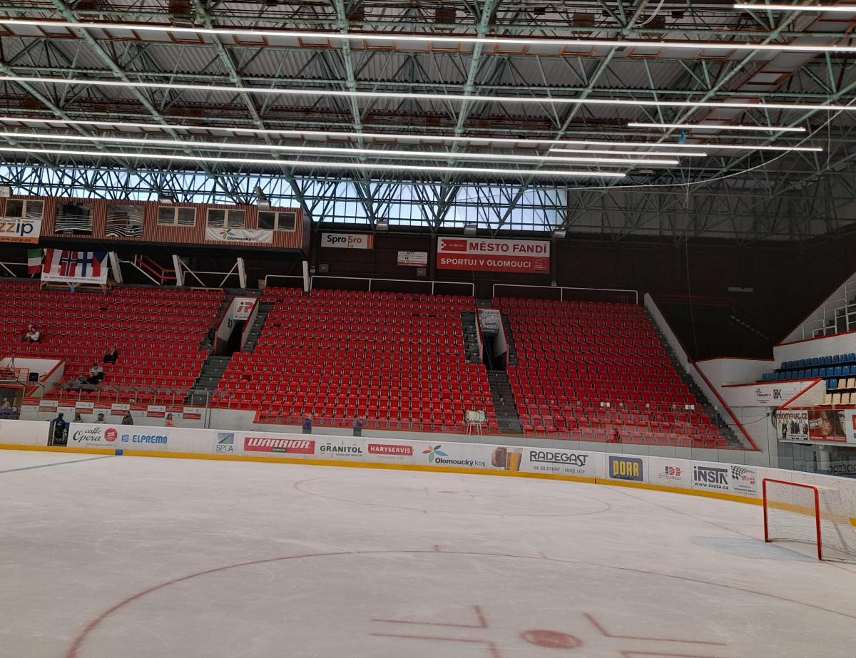Zimní stadion v Olomouci. Foto MoravskeListy
